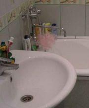 Новая раковина в ванной