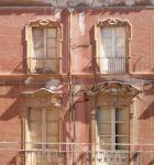 Фасад аварийного здания